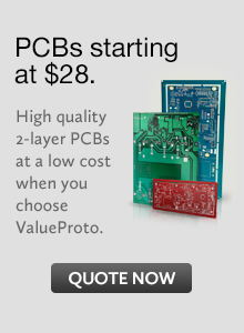 PCBs Starting at $28. Quote Now.